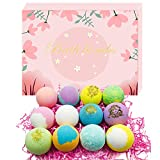 Bath Bombs Gift Set 12, Bath Bombs for Women Kids Girl Friend, Perfect for Bubble & Spa Bath Handmade Birthday Mothers Day Gifts Idea