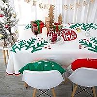 [テンカ]テーブルクロス クリスマス用 140×180cm 北欧 長方形 正方形 テーブルカバー 食卓カバー お正月 新年 厚手 汚れ防止 雰囲気 部屋飾り 店飾り パーティー 贈り物 多用途