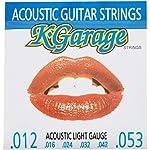 K-GARAGE アコギ弦 A/G 012-053 ライトゲージ 3SET PACK