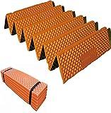 Optimus レジャーマット 折りたたみ PVC 厚手 20mm アウトドア 全4色 オレンジ