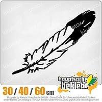 KIWISTAR - Feather Bird Bird 15色 - ネオン+クロム! ステッカービニールオートバイ