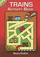 Trains Activity Book (Dover Little Activity Books)