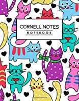 "Cornell Notes Notebook: Cornell Note Taking System For High School College University Students l Cornell Note Paper Notebook 8.5 x 11"" l College Ruled Lined Journal"