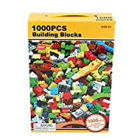 Tivollyff 1000個、DIY・ビルディング・ブロックのセット、教育レンガ市クリエイティブ、子供のためのおもちゃLegoinglyと互換性