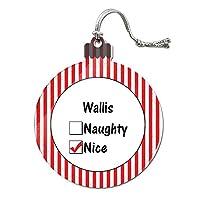 ウォリス is ニースアクリルクリスマスオーナメント