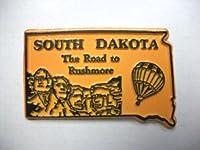 クラシックSouth Dakota the Road to Rushmore United States冷蔵庫マグネット