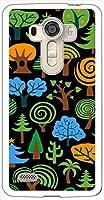 sslink LGV32 isai vivid イサイ ビビッド ハードケース ca1229-3 植物 ツリー 木 スマホ ケース スマートフォン カバー カスタム ジャケット au