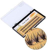偽のまつげ、偽のまつげ、柔らかい自然の拡張、偽のまつげの手作りの長い睫毛のメイクアップの美しさ (8mm)