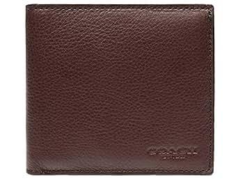 [コーチ] COACH 財布(二つ折り財布) F75003 マホガニー カーフ レザー コイン ウォレット メンズ [アウトレット品] [ブランド] [並行輸入品]