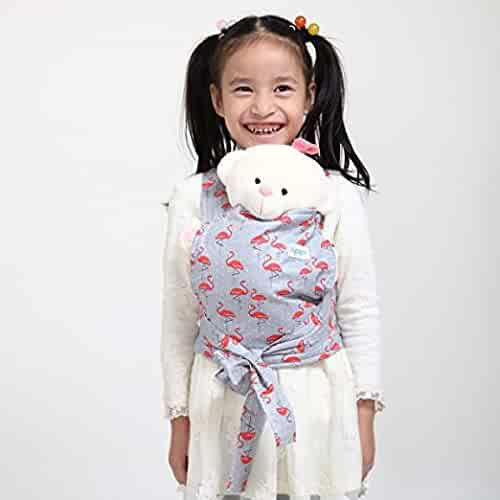 d71ed06d063 Baby Doll Carrier Mei Tai Sling Toy for Kids Children Toddler Front Back