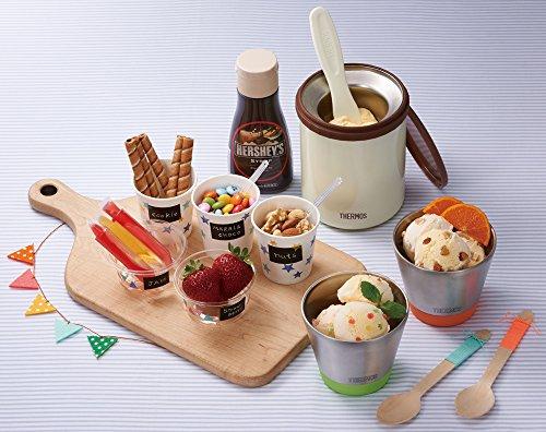 サーモス 真空断熱 アイスクリーム メーカー 200ml クッキー KDA-200 CK THERMOS(サーモス)