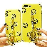 ナイキ ジャパン 【JADE Japan】 iPhone6/6s/6Plus/6s Plus/ iPhone7/7 Plus スマイル ニコちゃん smile ストラップ付 ソフトアイフォンケース (iPhone6plus/6s plus(5.5))