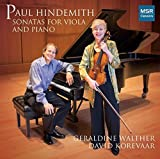 Paul Hindemith: Sonata for Viola and Piano, Op.11 No.4 (1919); Sonata for Viola and Piano, Op.25 No.4 (1922); Sonata for Viola and Piano (1939) by Geraldine Walther (viola) (2013-05-03)