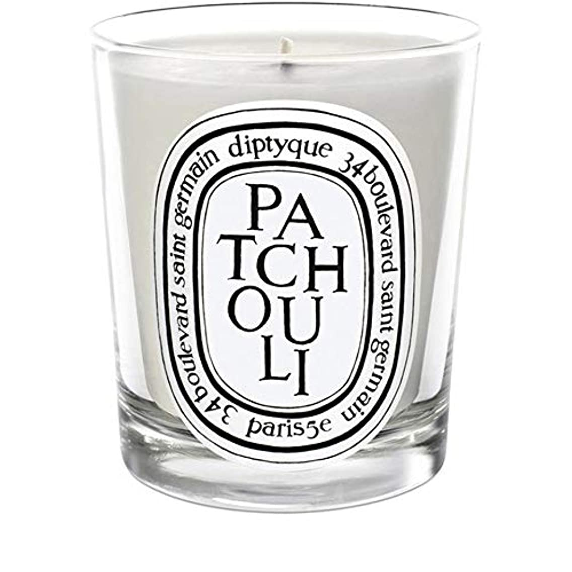 素人ハッチ動かす[Diptyque] Diptyqueのパチョリミニ香りのキャンドル70グラム - Diptyque Patchouli Mini Scented Candle 70g [並行輸入品]
