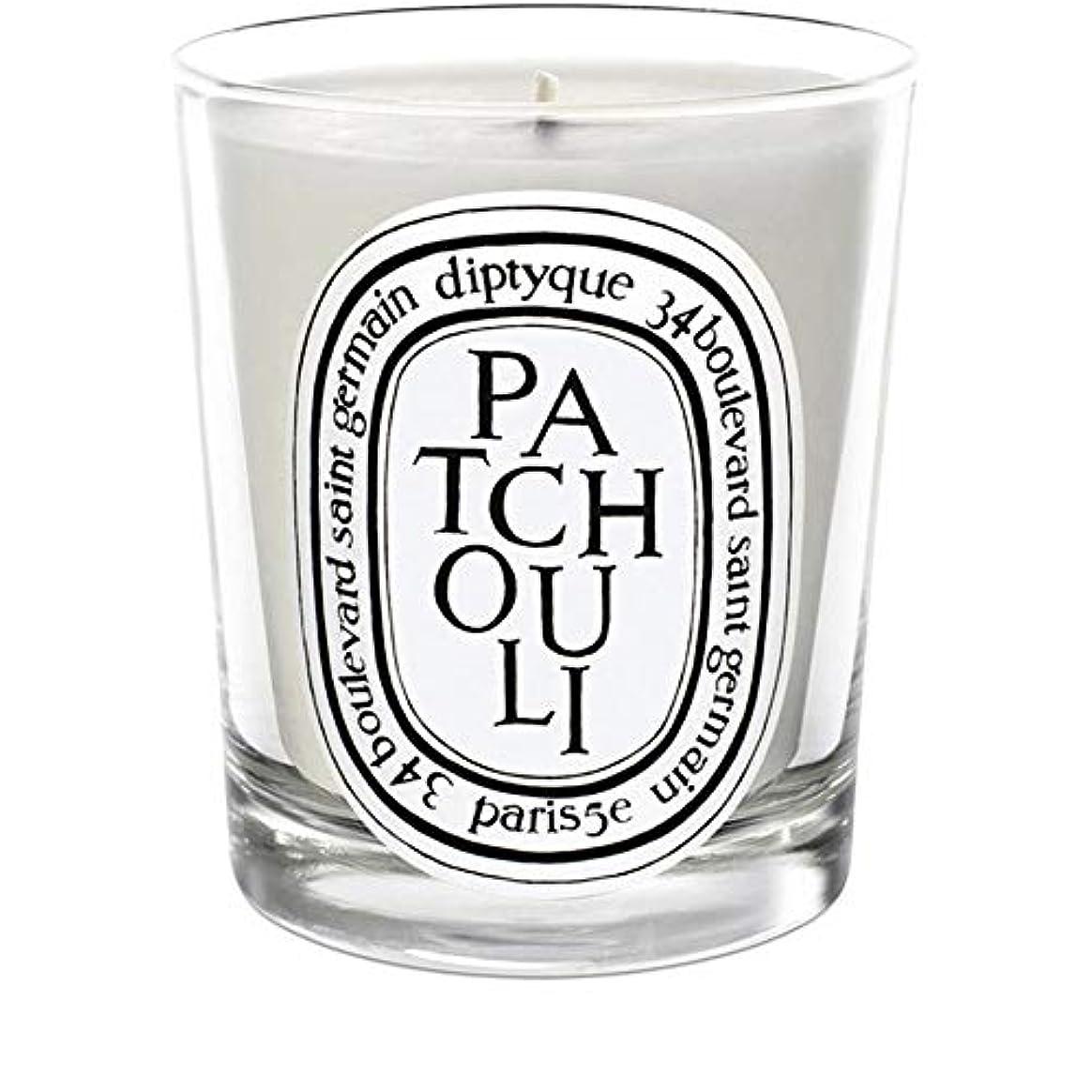 考える展望台黄ばむ[Diptyque] Diptyqueのパチョリミニ香りのキャンドル70グラム - Diptyque Patchouli Mini Scented Candle 70g [並行輸入品]