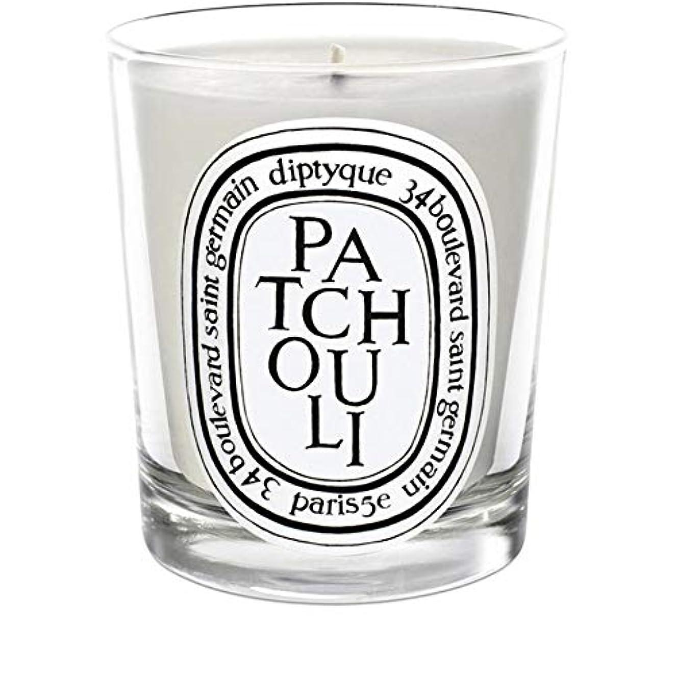 サンダル十分です契約した[Diptyque] Diptyqueのパチョリミニ香りのキャンドル70グラム - Diptyque Patchouli Mini Scented Candle 70g [並行輸入品]