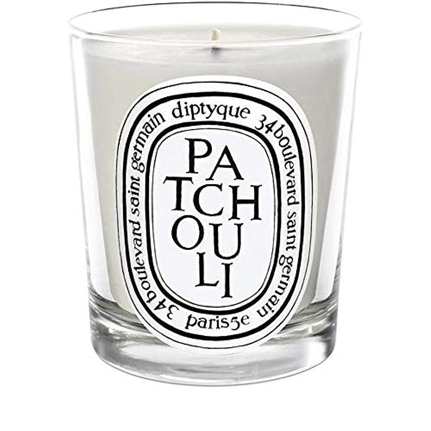 むき出しどこでも卒業記念アルバム[Diptyque] Diptyqueのパチョリミニ香りのキャンドル70グラム - Diptyque Patchouli Mini Scented Candle 70g [並行輸入品]