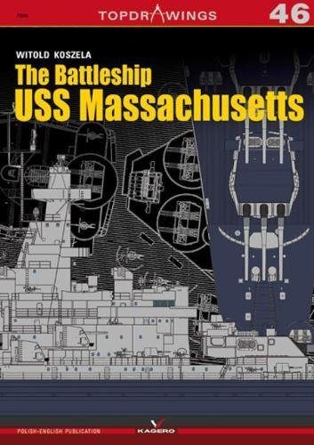 The Battleship USS Massachusetts (Topdrawings)