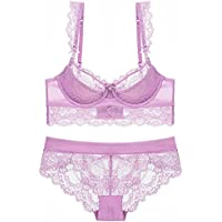 Unparalleled beauty Women Lingerie Sets Lace Babydoll Bralette Bra Panty Set