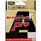 デュエル(DUEL) ライン: ARMORED F+ Pro 150M 0.2号 GY: ゴールデンイエロー