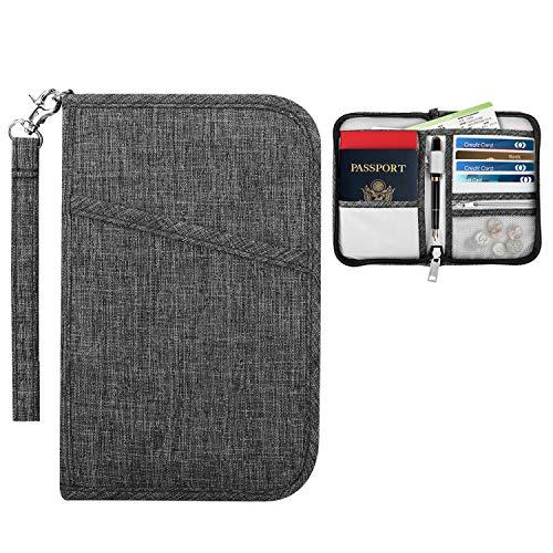 パスポートケース - ATiC ファスナー式 7.0インチ防...