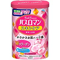 【医薬部外品】 アース製薬 バスロマン 入浴剤 スキンケア Wコラーゲン 600g