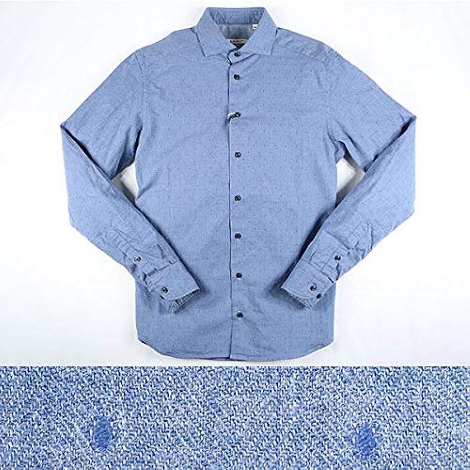 西不道徳サンダーEXIBIT 水玉 長袖シャツ CA113C542 blue XL 11378【A11382】 エグジビット [並行輸入品]
