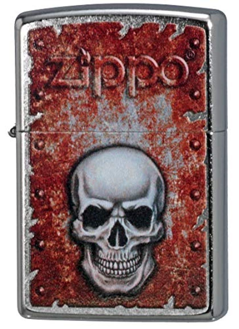 鉛筆ストレスデコレーションZIPPO ジッポーライター オイル ライター Rusted Skull Design #29870