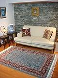 手織りウール絨毯 175cm × 122cm AC-0026