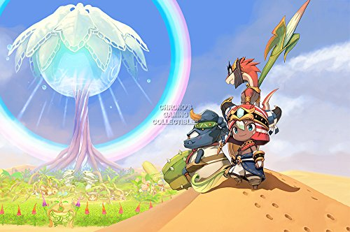 CGC Hugeポスター – Ever Oasis Nintendo 3ds光沢仕上げ – oth3...