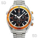 [オメガ]OMEGA腕時計 シーマスター プラネットオーシャン クロノグラフ ブラック/オレンジ Ref:2218.50 メンズ [中古] [並行輸入品]