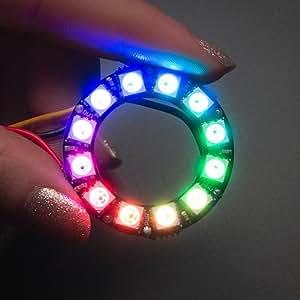 NeoPixel Ring - 12連フルカラーシリアルLED