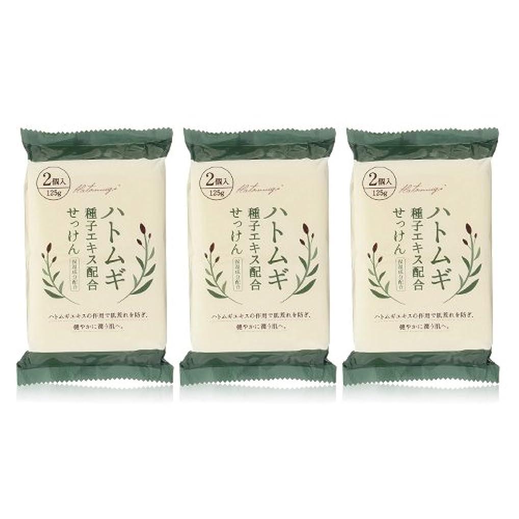 マート味方非アクティブハトムギ種子エキス配合石けん 125g(2コ入)×3個セット(計6個)