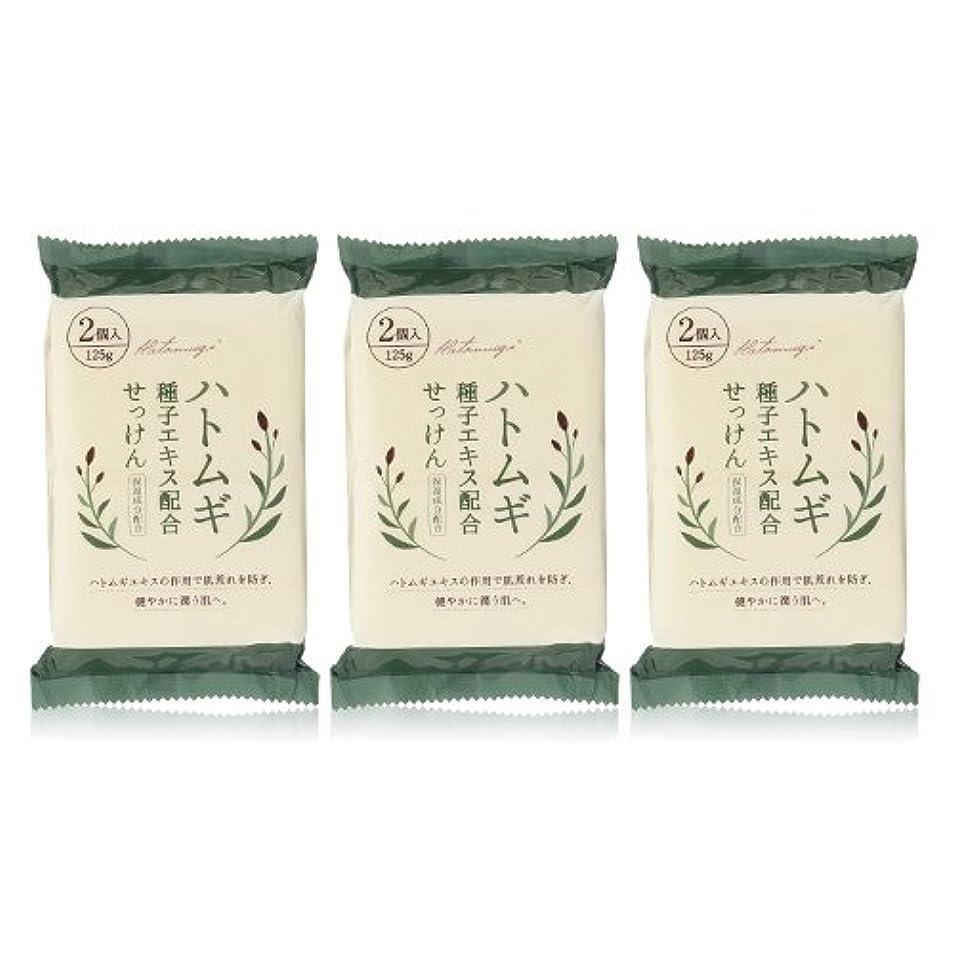 ハトムギ種子エキス配合石けん 125g(2コ入)×3個セット(計6個)