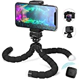 Phone Tripod, Fotopro Smartphone Tripod with Bluetooth Remote Shutter for iPhone, Samsung (4J-MS)