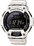 [カシオ] 腕時計 スタンダード ソーラー W-S220C-7BJF ホワイト