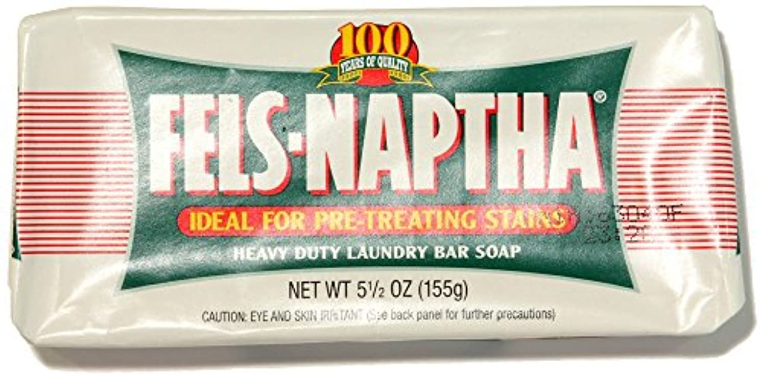 昨日インタネットを見るなかなかPack of 2 Fels Naptha Heavy Duty Laundry Bar Soap & Stain Remover 5.5oz by Dial