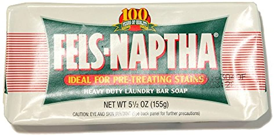 口裏切りラケットPack of 2 Fels Naptha Heavy Duty Laundry Bar Soap & Stain Remover 5.5oz by Dial