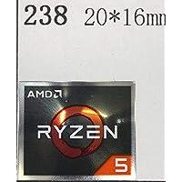 ■【AMD RYZEN 5】エンブレムシール 20*16mm