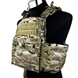 TMC CPC [CAGE Plate Carrier] タイプ ベスト (2016年ver) マルチカム迷彩 実物生地使用