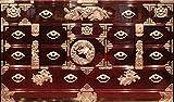 岩谷堂箪笥 横長サイドボード 木地呂塗り・手打ち金具 iwayado-tansu1