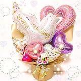【ピンク】結婚祝い☆ウェディング バルーングギフト☆送料無料 結婚式 電報 ウエディング