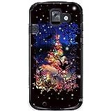 CaseMarket 【ポリカ型】 docomo らくらくスマートフォン2 F-08E ポリカーボネート素材 ハードケース [ Frame Picture Collections ホワイト クリスマス ]