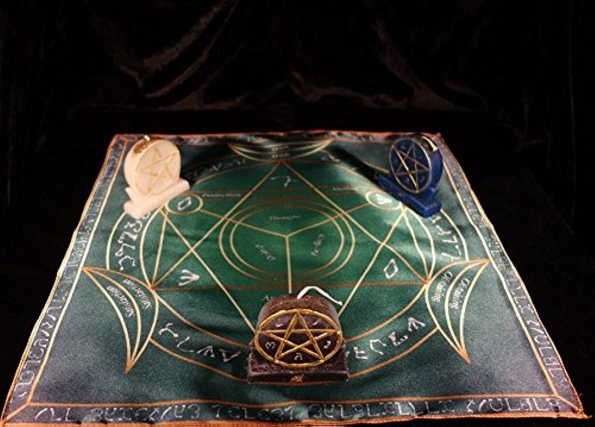 高揚した候補者反応するPagan Ritual MagicウィッカMystic trikvetrのインテリジェンスのTriumph r-005