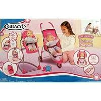 Graco Just Like Mom Deluxe Playset Stroller; 2 in 1 Carrier - Sleep Sack