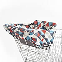 Skip Hop Compact 2-in-1 High Chair/Shopping Cart Cover Triangles Multi [並行輸入品]
