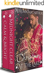 Christmas at the Lake: Two heartwarming sweet and clean Christian small-town romances set in Huckleberry Lake, Idaho (Huckleberry Lake Duets Book 1) (English Edition)