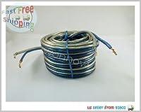 Wennow ® 30フィート14GA酸素高電流平行スピーカーケーブル