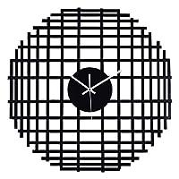 時計壁時計リビングルームホームファッション創造的な北欧壁チャート人格アート装飾ミュート形壁時計