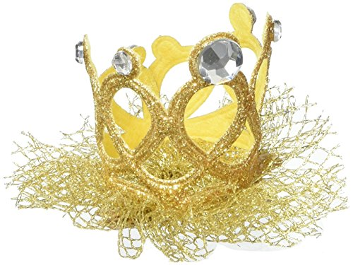 mandy rhinestone crown gold